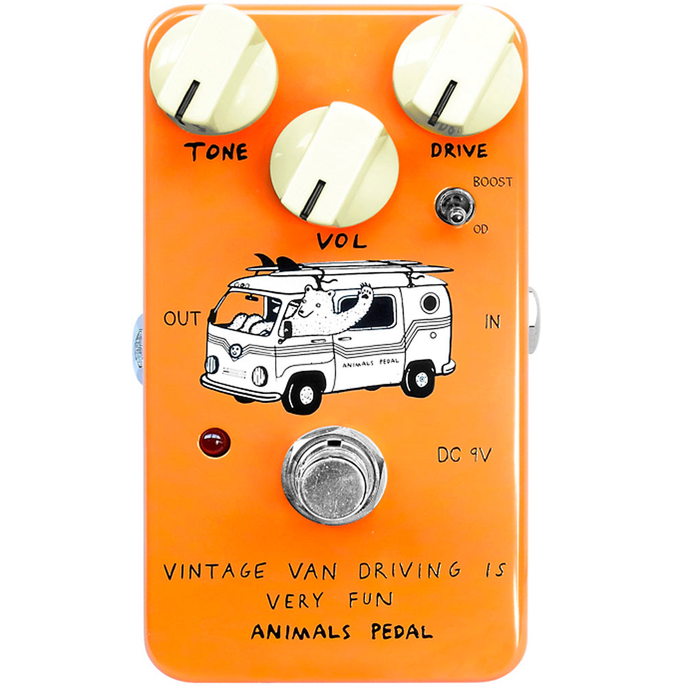 Animals Pedal Vintage Van Driving Is Very Fun Overdrive Pedal