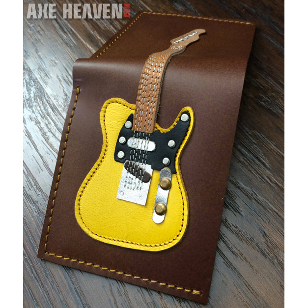Guitar Wallet - Blonde