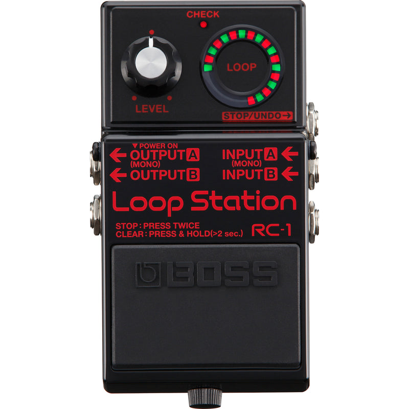 Boss RC-1BK Loop Station