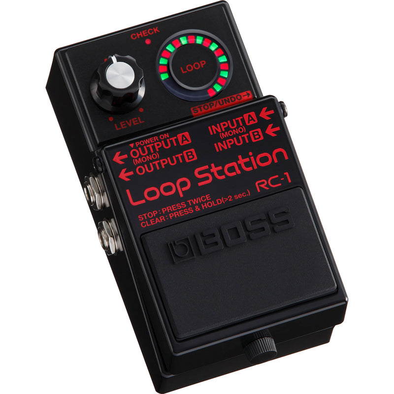 Boss RC-1 Loop Station Pedal - Special Edition Black
