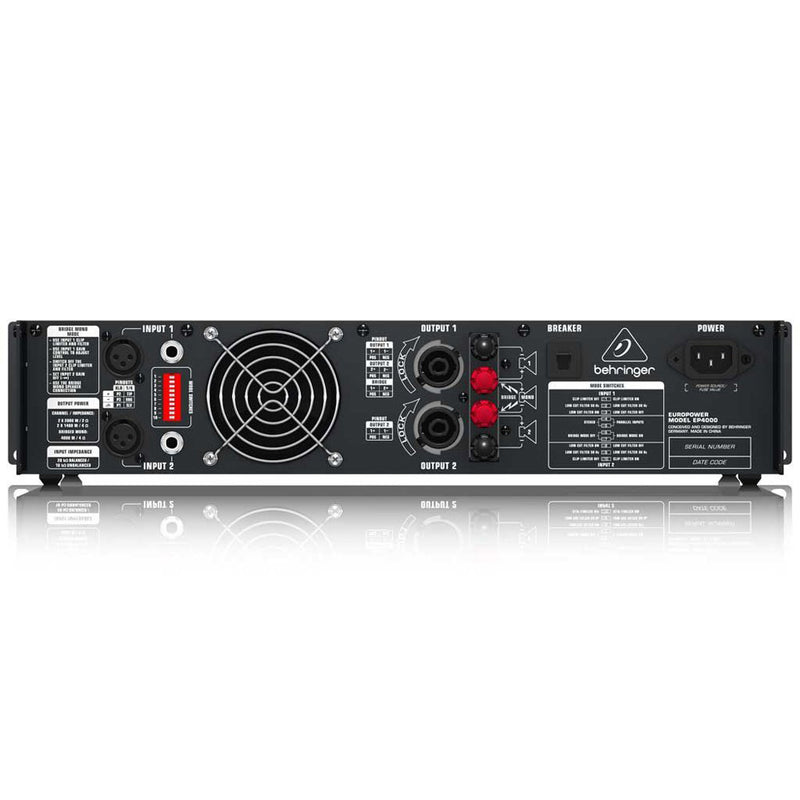 Behringer EP4000 Power Amp