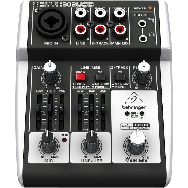 Behringer PODCASTUDIO 2 USB Bundle - Podcasting Bundle