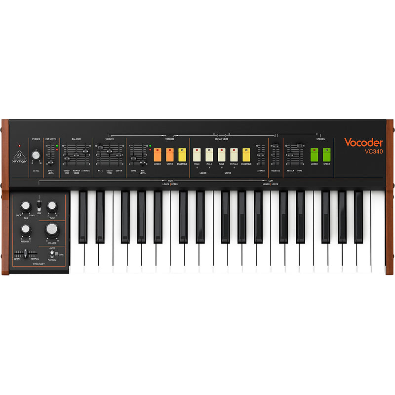 Behringer Vocoder VC340 37-key 6-voice Analog Synthesizer