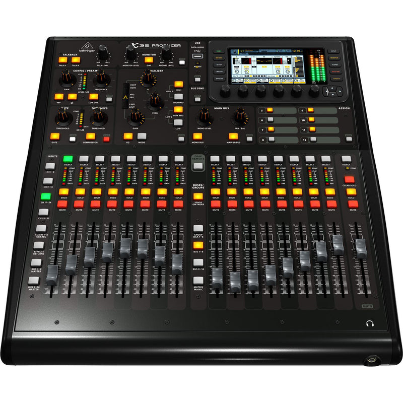 Behringer X32 Producer Digital Mixer with Motorized Faders and Virtual FX Rack