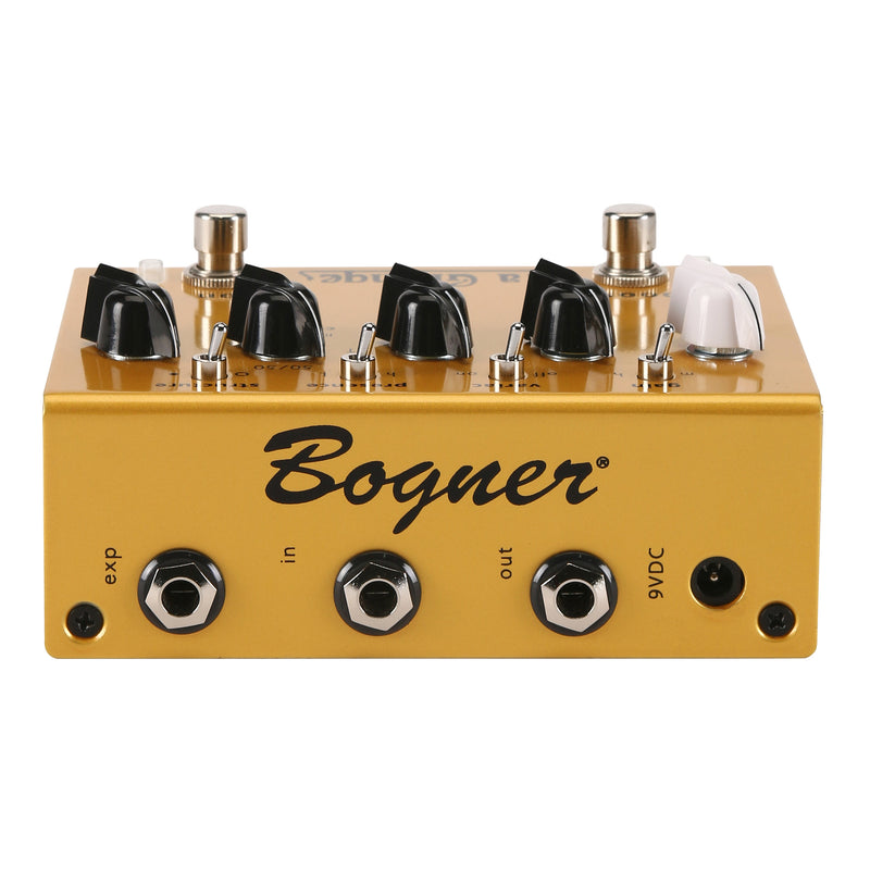 Bogner La Grange Overdrive/Boost Electric Guitar Effects Pedal