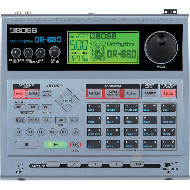 Boss DR-880 Dr. Rhythm Drum