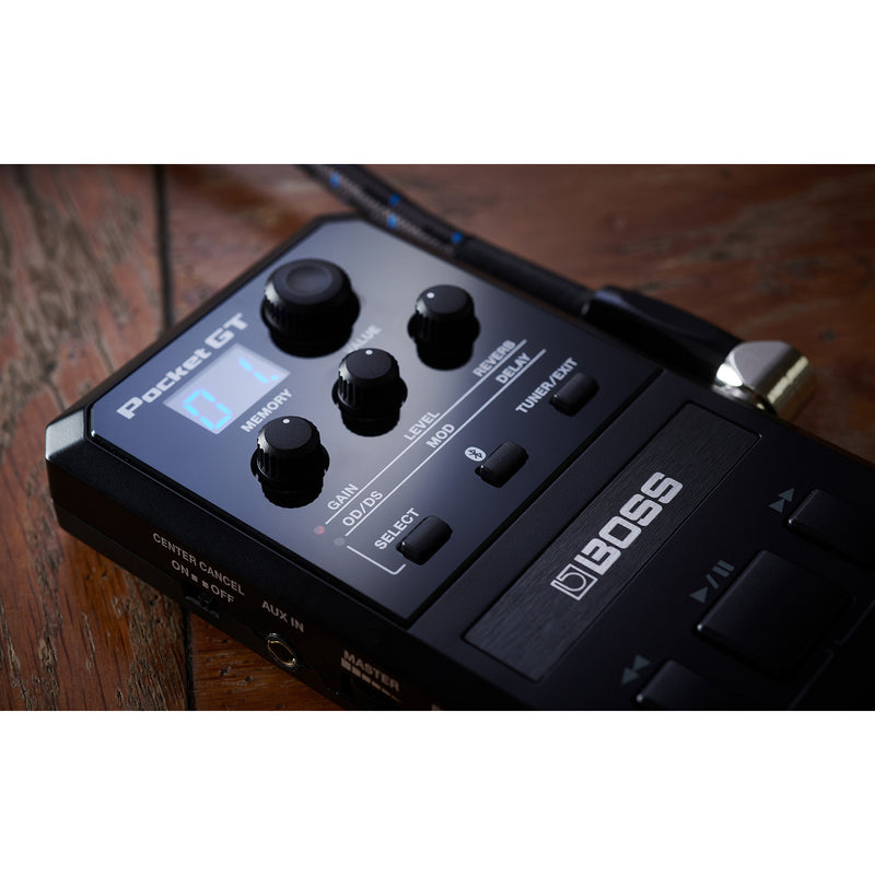 Boss Pocket GT Pocket Effects Processor & Youtube Practice Companion