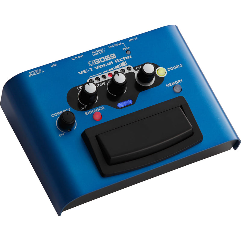 Boss VE-1 Vocal Echo Vocal Ambience Pedal