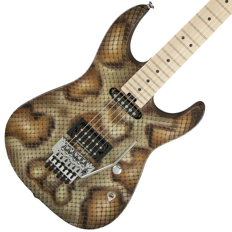 Charvel Warren DeMartini Signature Snake Pro Mod - Snakeskin Graphic