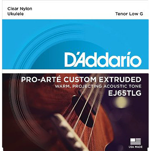 D'Addario EJ65TLG Tenor Low G