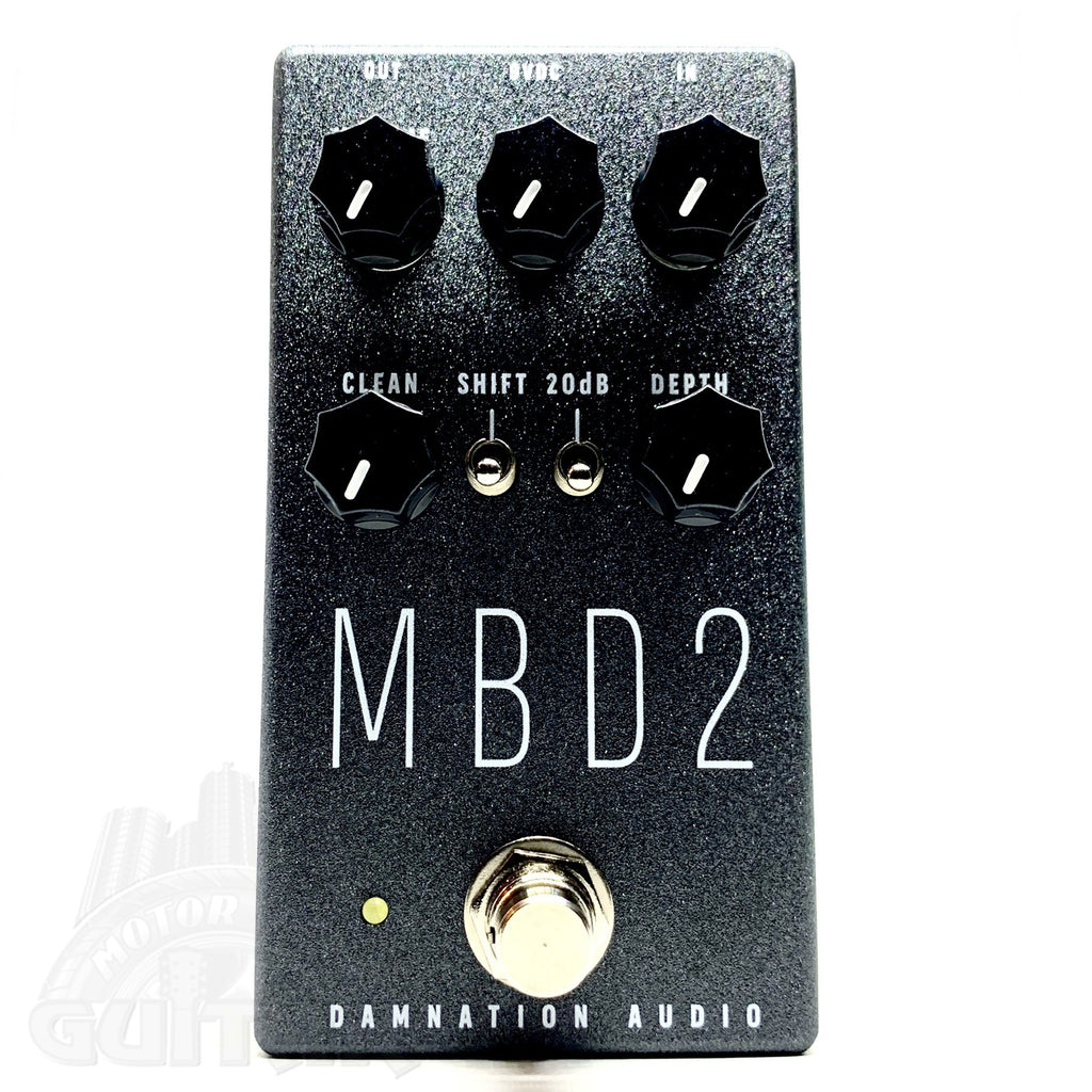 Damnation Audio MBD-2 Silver