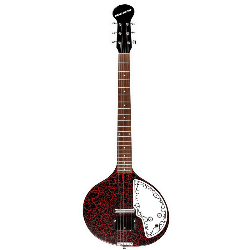 DANO BABY SITAR  RED CRACKLE