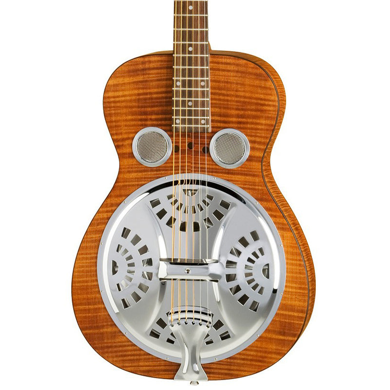 Dobro Hound Dog Dlx Round Neck