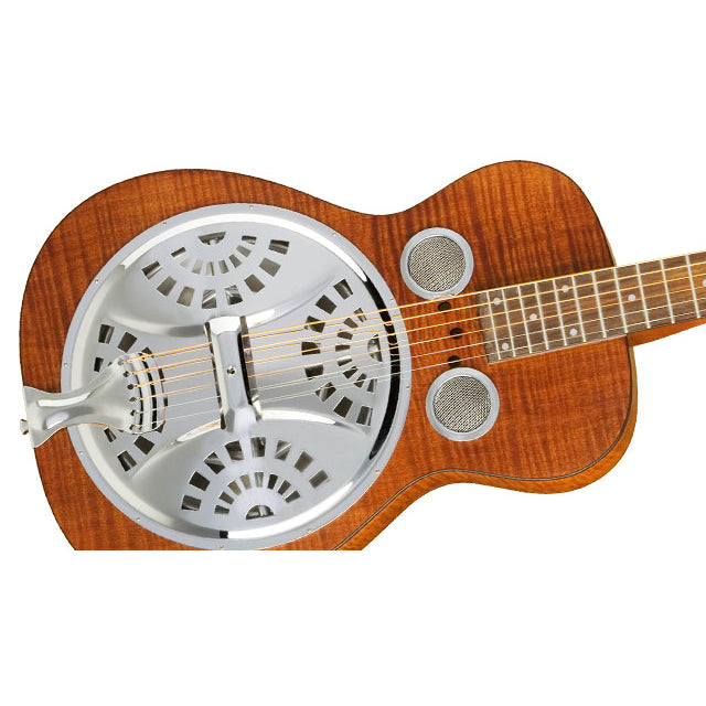 Dobro Hound Dog Deluxe Square Neck - Violinburst