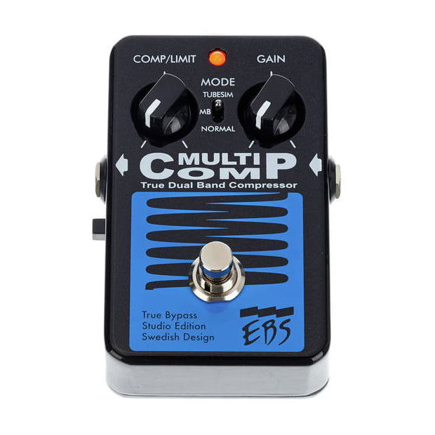 EBS Multicomp SE Studio Edition True Dual Band Compressor Pedal