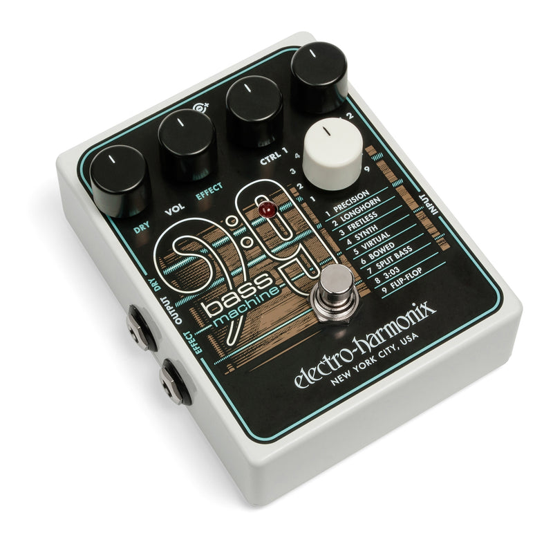 Electro Harmonix BASS9 Bass Machine Bass Guitar Emulator Pedal - IN STOCK!