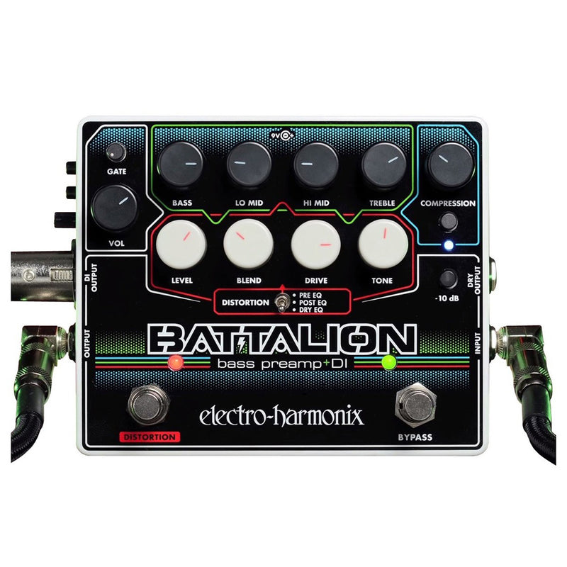 EH Battalion Bass Preamp DI