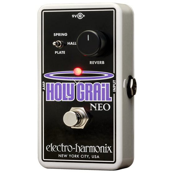 EH Holy Grail Neo Reverb Pedal