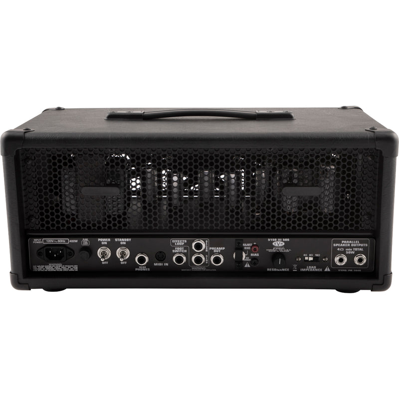 EVH 5150 III 50-watt Tube Head - Black Stealth