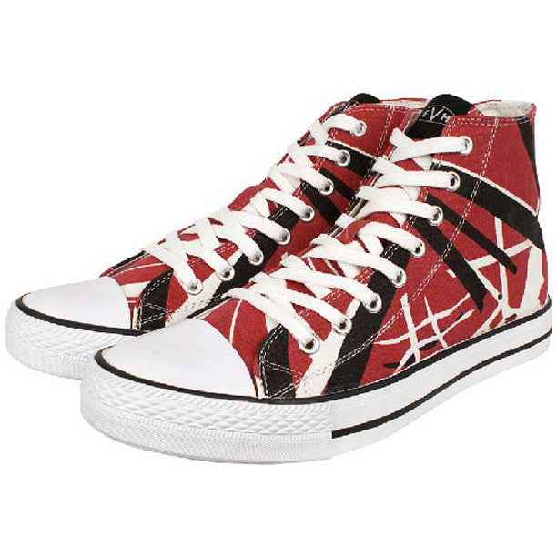 efe4a04a06b EVH Red High Top Sneakers 9.5 – Motor City Guitar