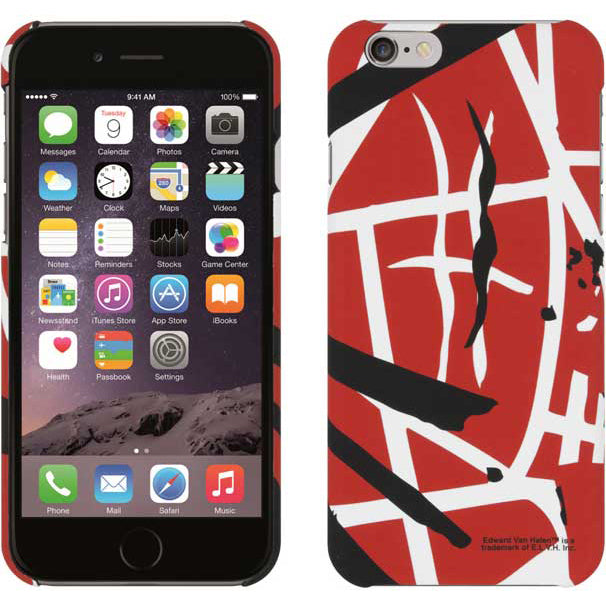 EVH iPhone 6 Plus Case Red