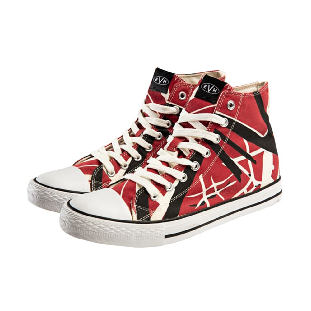 EVH Red High Tops Size 8