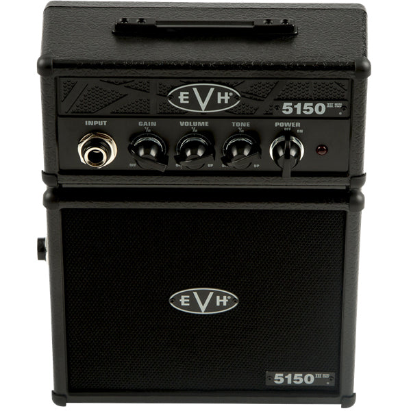 EVH 5150 III Stealth Black 1-Watt Micro Stack