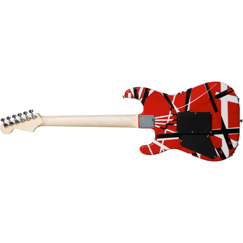 EVH StripedGuit Red w/ Black