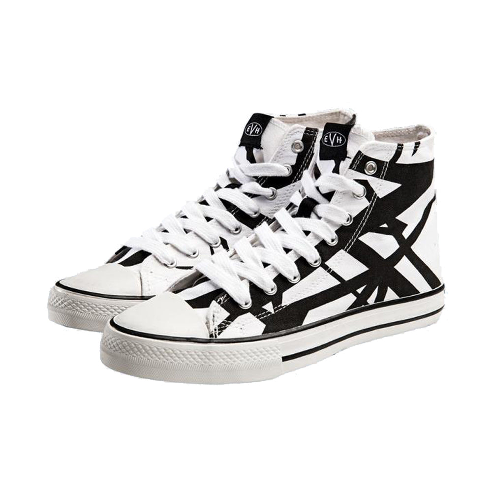EVH White High Tops Size 8
