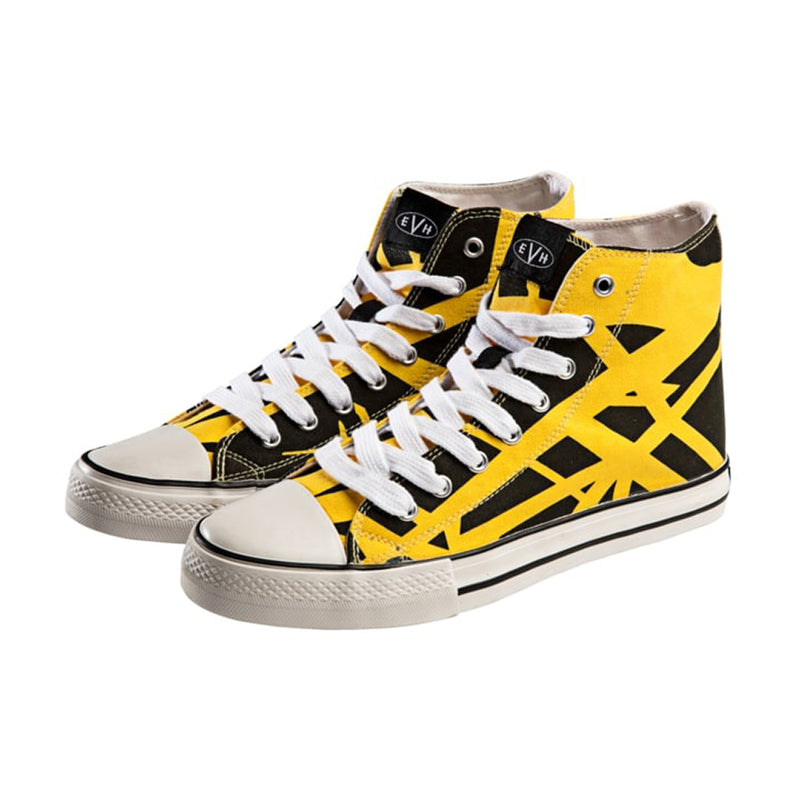 EVH Yellow High Tops Size 8
