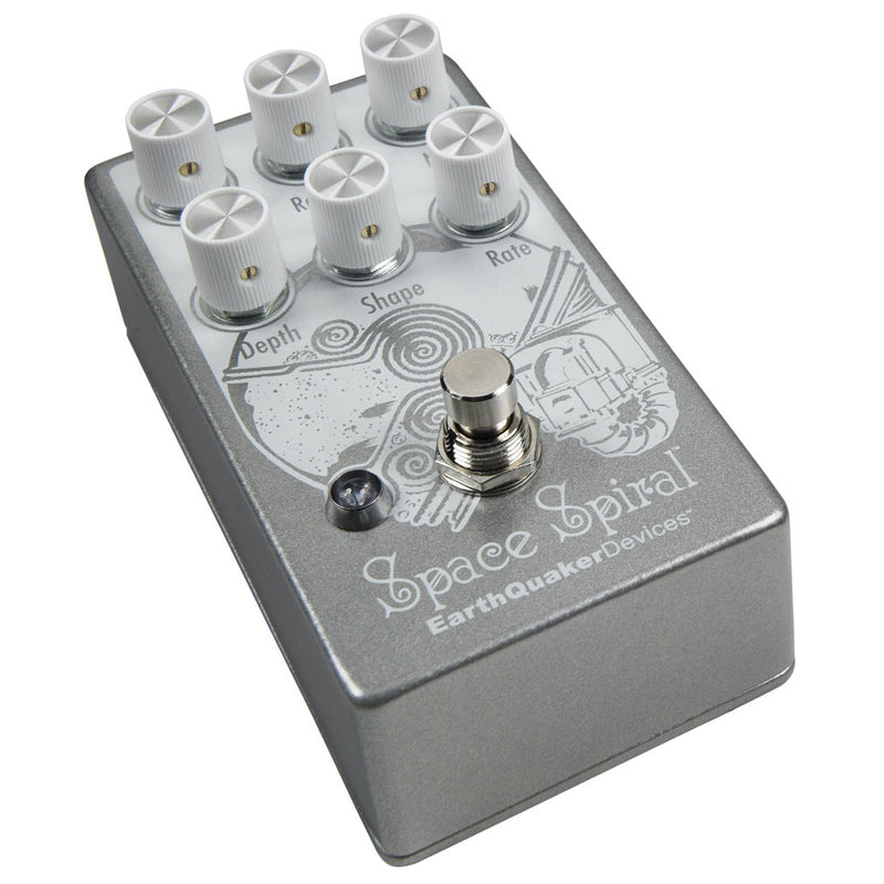 EarthQuaker Devices Space Spiral Modulated Delay Guitar Effects Pedal V2