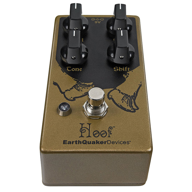 EarthQuaker Devices Hoof V2 Germanium / Silicon Fuzz Electric Guitar Effects Pedal