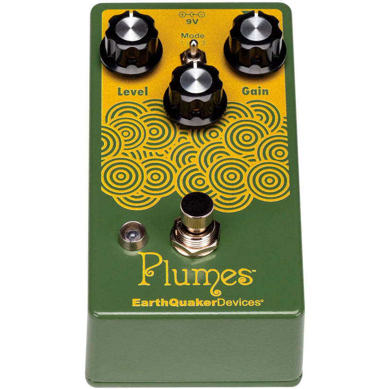 EarthQuaker Devices Plumes Small Signal Shredder Overdrive Pedal
