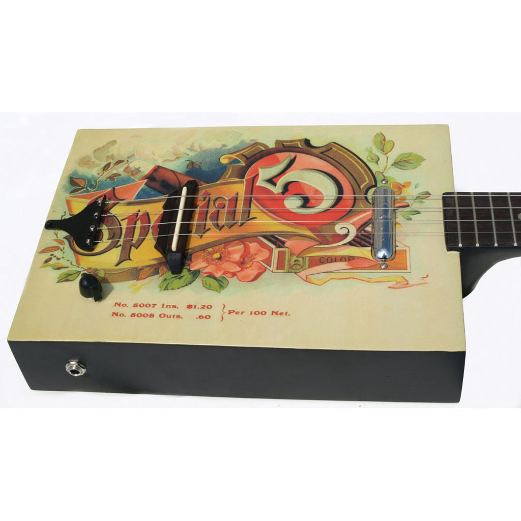 Eddy Finn Cigar Box A/E Guitar