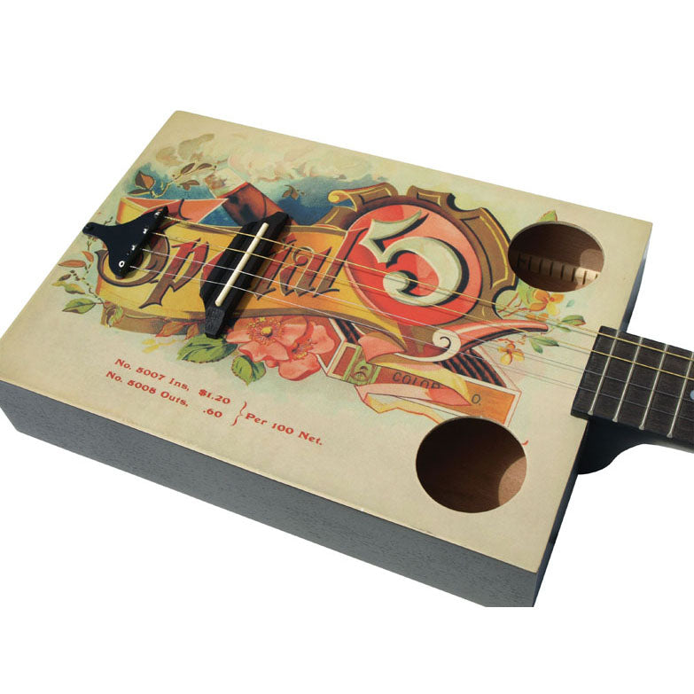 Eddy Finn Cigar Box Ac Guitar