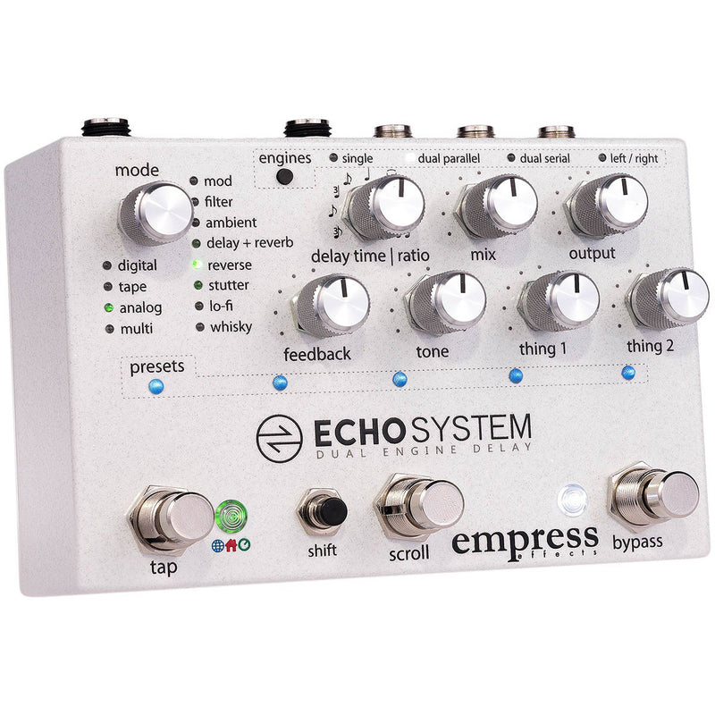 Empress Echosystem Dual Engine Delay Pedal