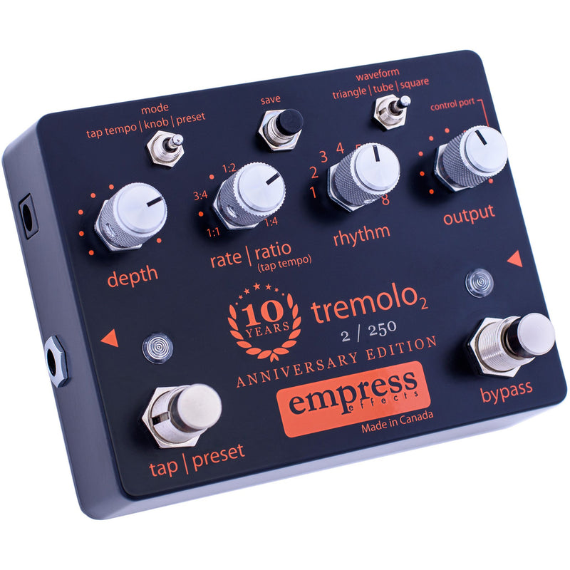 Empress Tremolo 2 Pedal 10th Anniversary