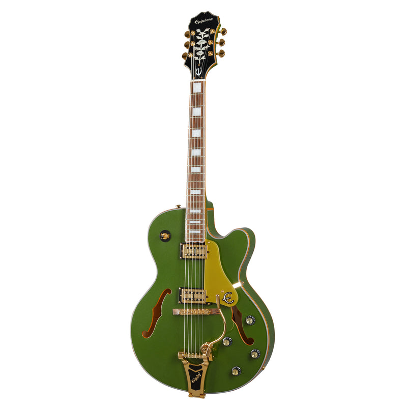 Epiphone Emperor Swingster Hollow Body Guitar - Forest Green Metallic