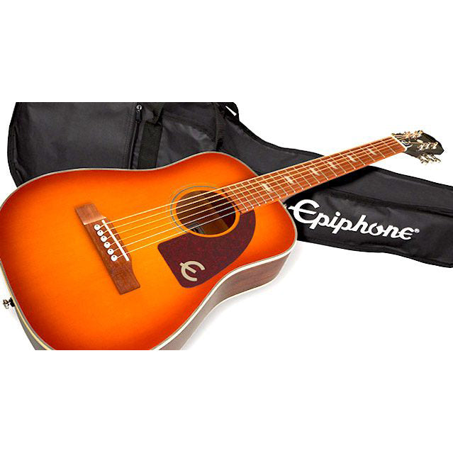 Epiphone Lil Tex (Electric/Acoustic) - Faded Cherry Sunburst