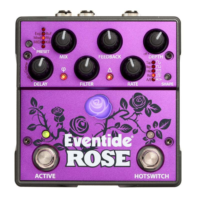 Eventide Rose Analog/Digital Hybrid Delay Pedal
