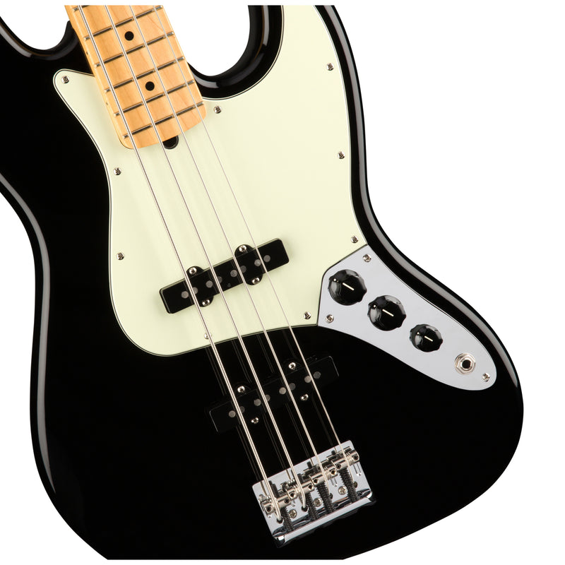 FENDER AM PRO JAZZ BASS MN BLK