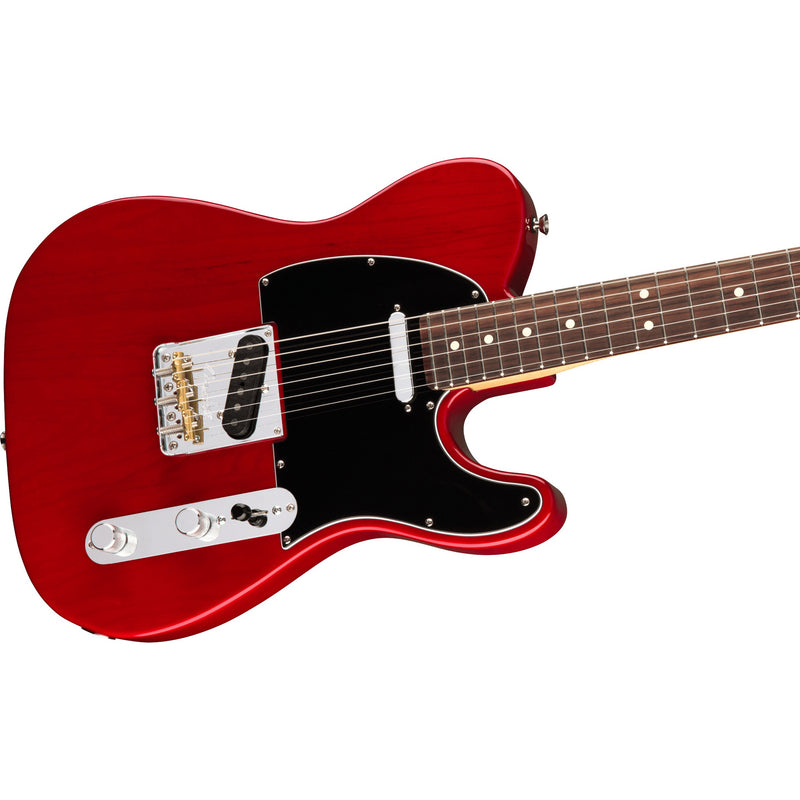 Fender American Pro Telecaster - Crimson Red Transparent w/ Rosewood Board