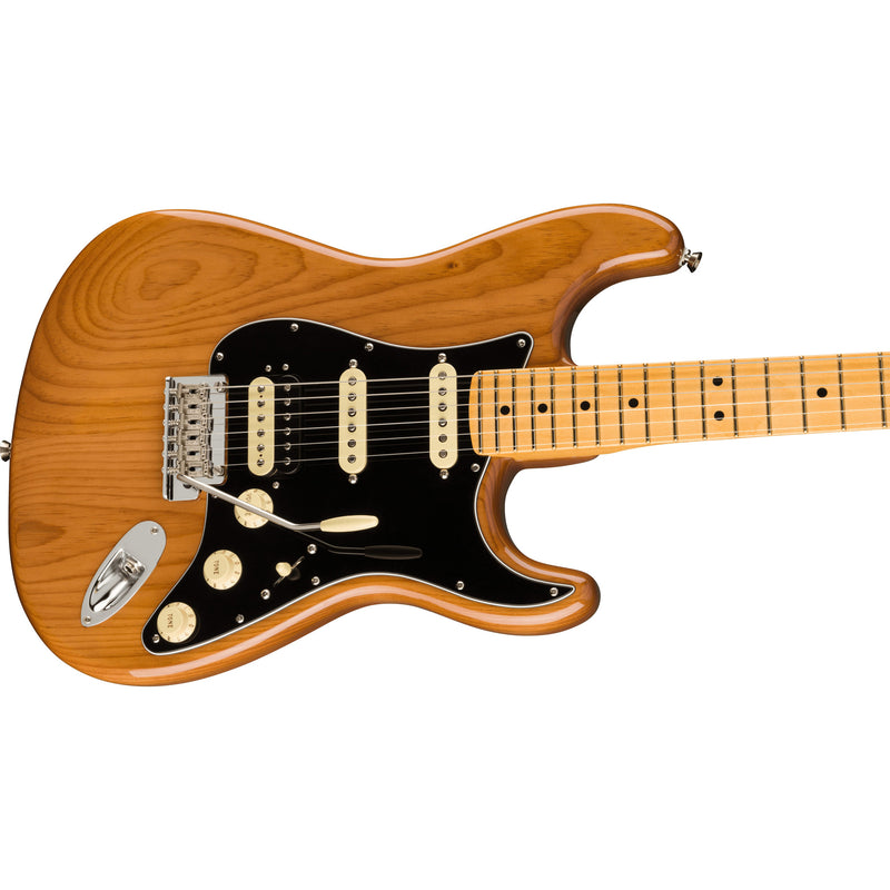 Fender American Professional II Stratocaster HSS Guitar - Roasted Pine