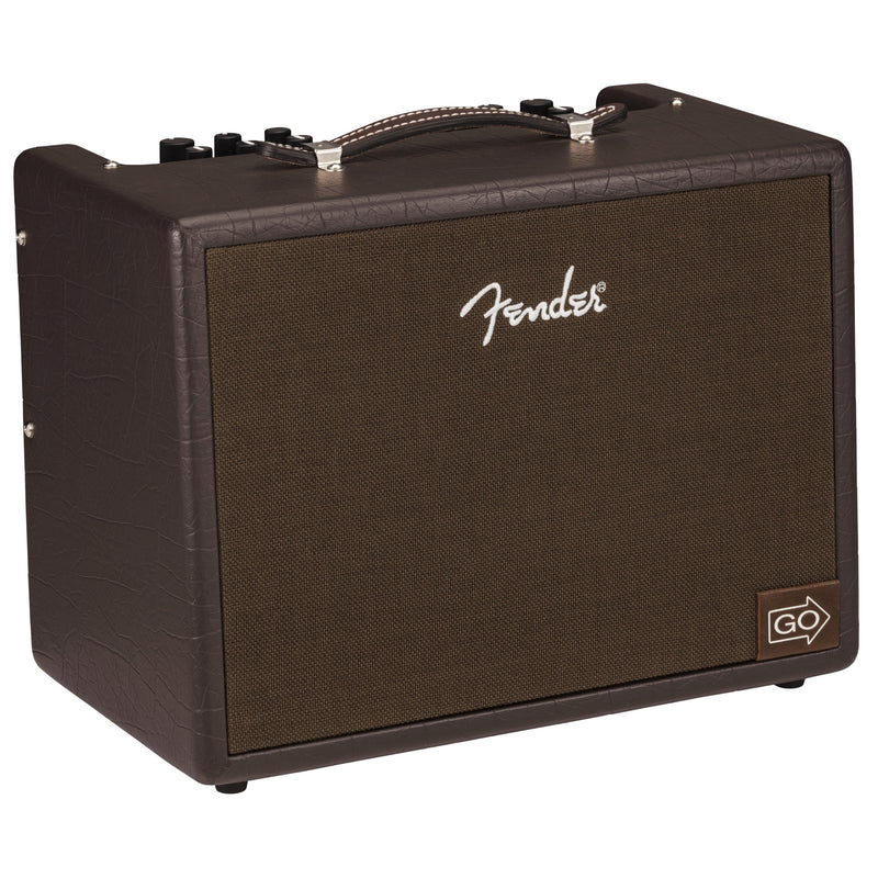 Fender Acoustic Junior GO 100w Portable Acoustic Guitar Combo Amp w/Rechargable Battery