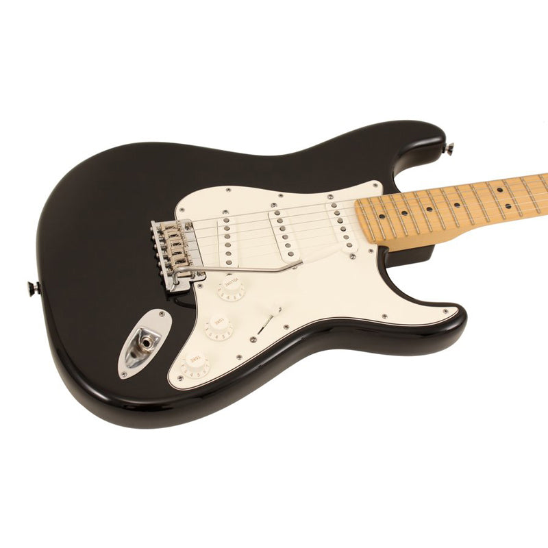 FENDER AM STD STRAT MN BLK