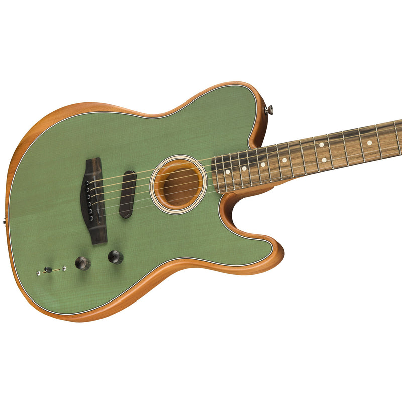 Fender American Acoustasonic Telecaster Acoustic-Electric Guitar - Surf Green