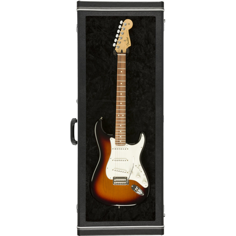 FENDER GUITAR DISPLAY CASE BLK