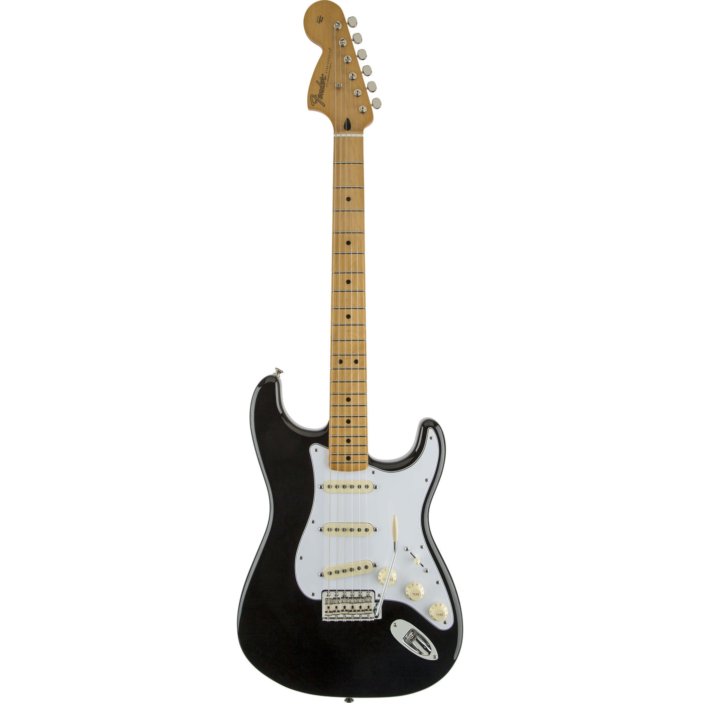 Fender Jimi Hendrix Stratocaster®, Maple Fingerboard, Black New
