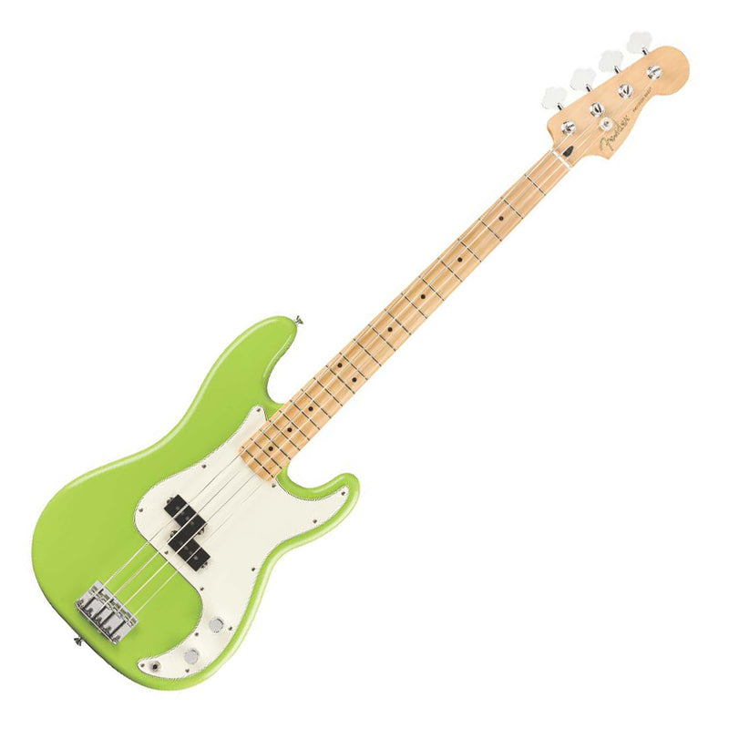 Fender Player Precision Bass - Limited Edition FSR Electron Green - Only 200 Made!