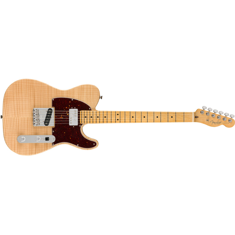 Fender Rarities Flame Maple Top Chambered Telecaster - Natural w/ Maple Board